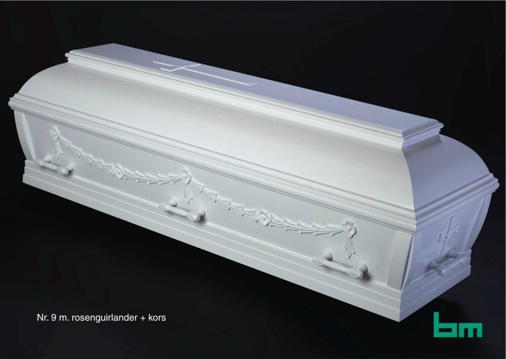 bm begravelseskister 9 rose guilander kors soeby begravelse