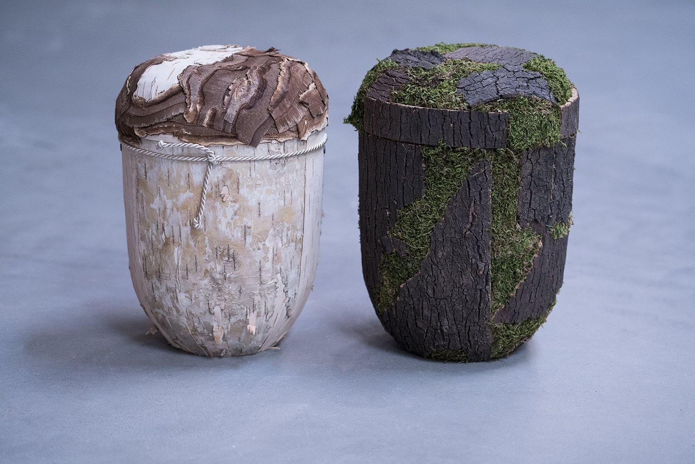 Natur birk og Natur bark