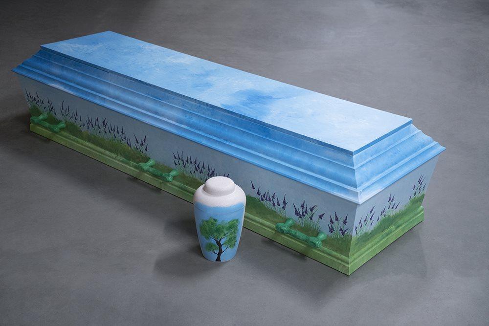 fb haandmalede 2 soeby begravelse