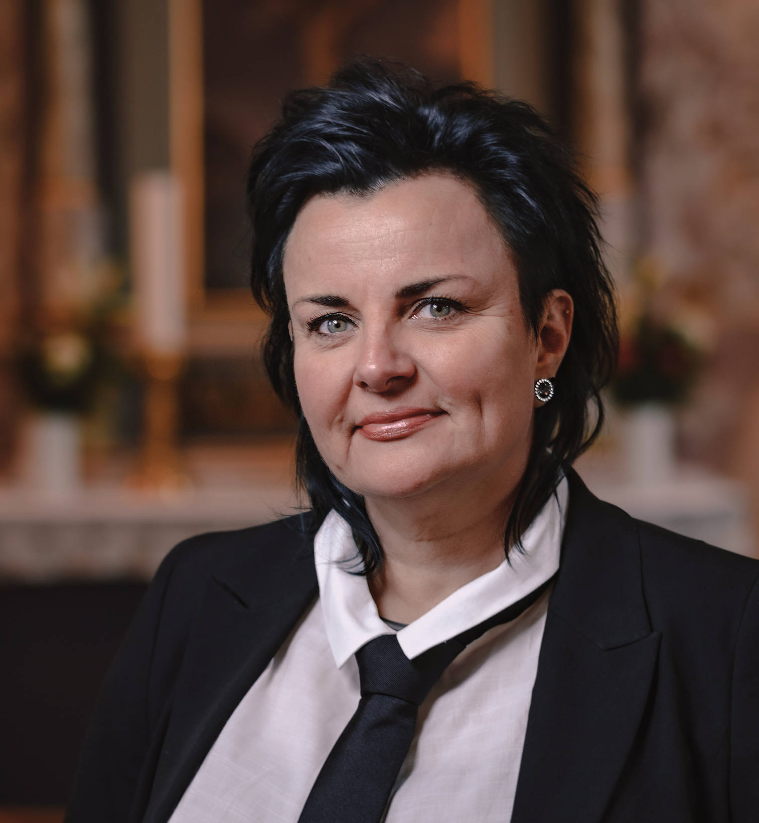 Bededame Sanne Egebjerg